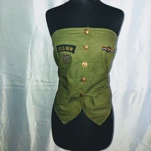 Strapless USS New Army Shirt